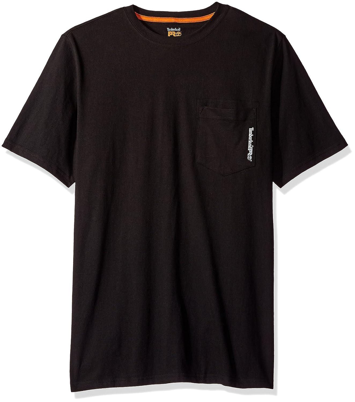 Timberland ProベースプレートBlendedメンズ半袖Tシャツ B01LVTWVJS X-Large|ジェットブラック ジェットブラック X-Large