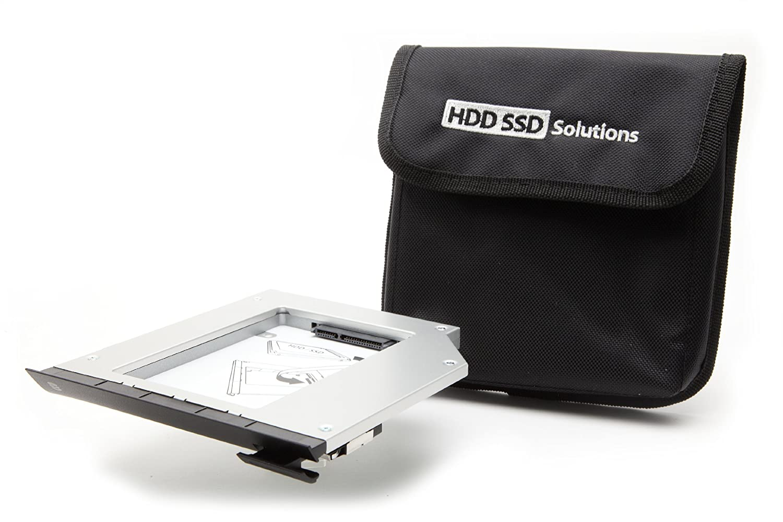 2nd Hard Drive Caddy for DELL Modular Bay E6520, E6530, E6420, E6430, E6320, E6330 (original Newmodeus caddy) DELL-2BAY-E6520