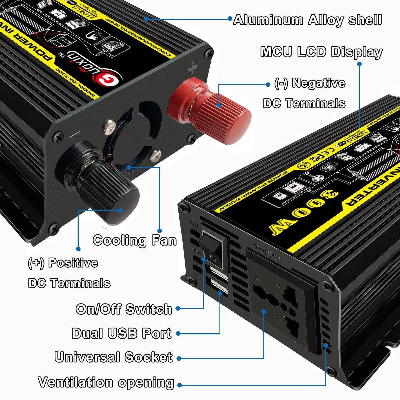 300w Dc 220v 12v Convertisseur De Guoxin Vers Ac Transformateur mn0vN8wO