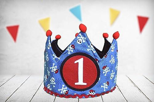 Corona cumpleaños Pirata (Incluye Todos los números ...