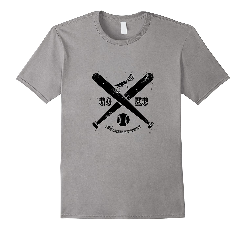 Rally Mantis GO KC Kansas City Baseball T-Shirt-CD