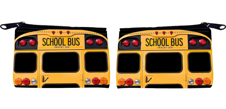 Rikki Knight Back Of A Yellow School Bus Design Scuba Foam Coin Purse 00_ATWCCNOW_02