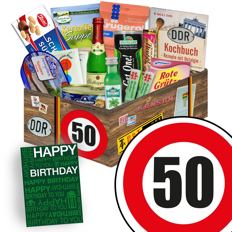 Spezialitäten Geschenk   Ostalgie Set L   Geburtstag 50   Geschenk ...