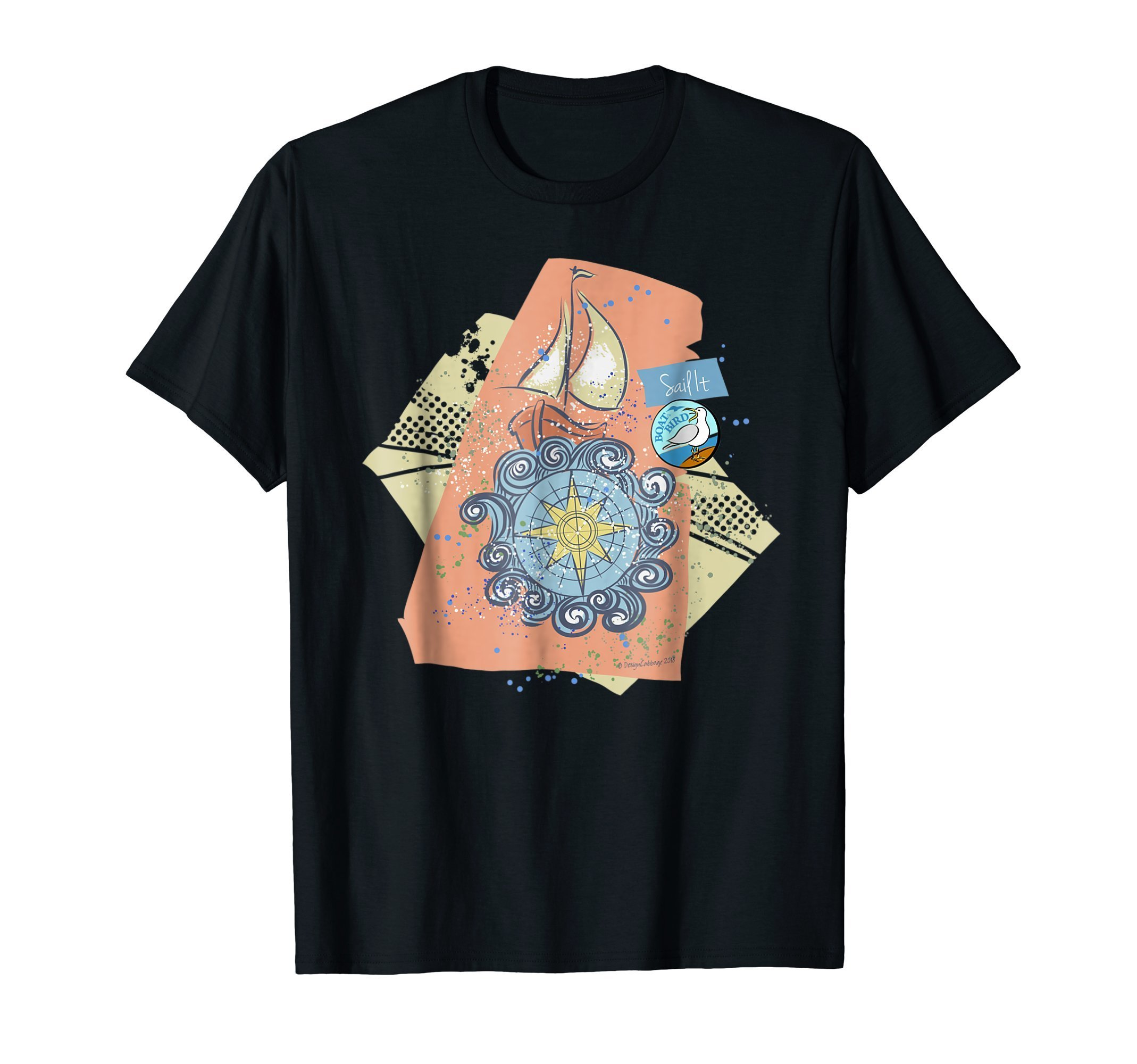 Boat Travel Cruise Graphic T Shirt