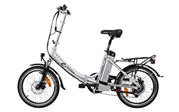 E-motos Alu Pedelec K20 cityfolder E-Bike bicicleta plegable bicicleta eléctrica