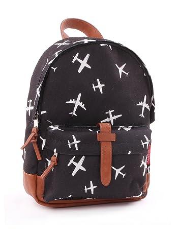 3b36b82ca45 Backpack Kidzroom Black & White Planes Children's Backpack, 31 cm, (Planes):  Amazon.co.uk: Luggage