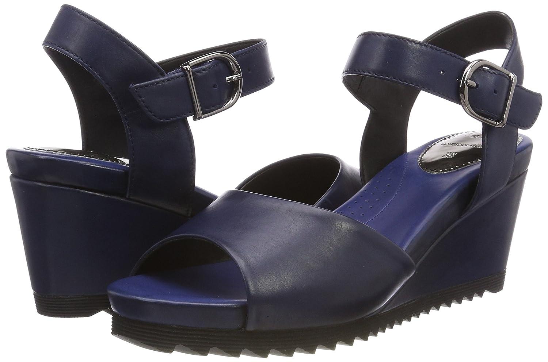 GERRY WEBER (Blau) Damen Florentine 01 RiemchenSandale Blau (Blau) WEBER df6d71