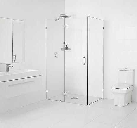 Glass Warehouse 78u201d X 35.5u0026quot; X 35.5u0026quot; Frameless 90 Degree Shower  Enclosure