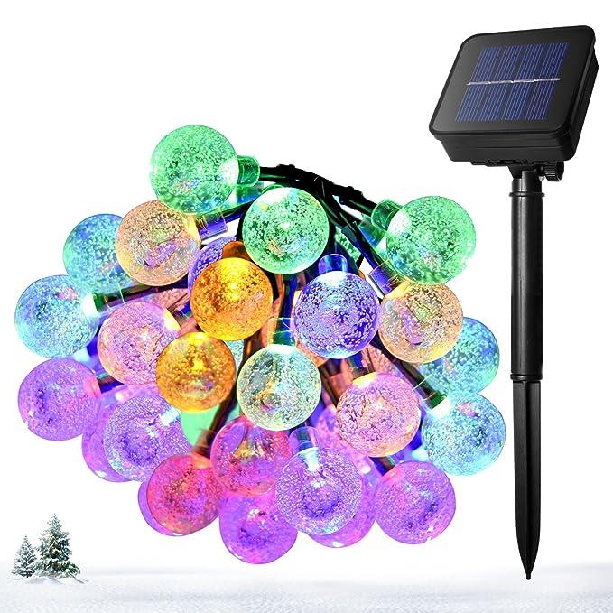 150 opinioni per Ankway Decorativo Catena Luminosa Solare Strisce LED da Esterno- Luminarie