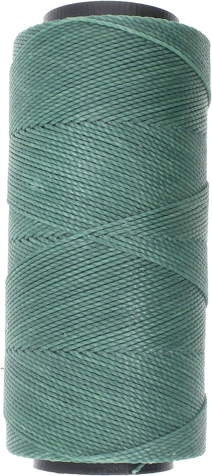 Bracelet Cord Chinese Knotting Cord  179-70 Macrame Cord Waxed Cord : 70 Yards Full Spool Merlot 1mm Waxed Cord String
