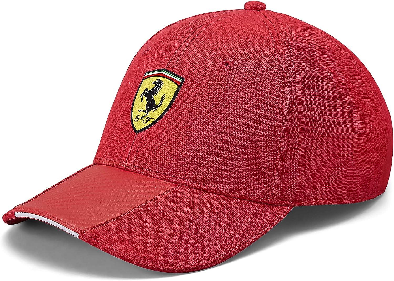 Gorra de Carbono roja de la Marca Sports Merchandising B.V. ...