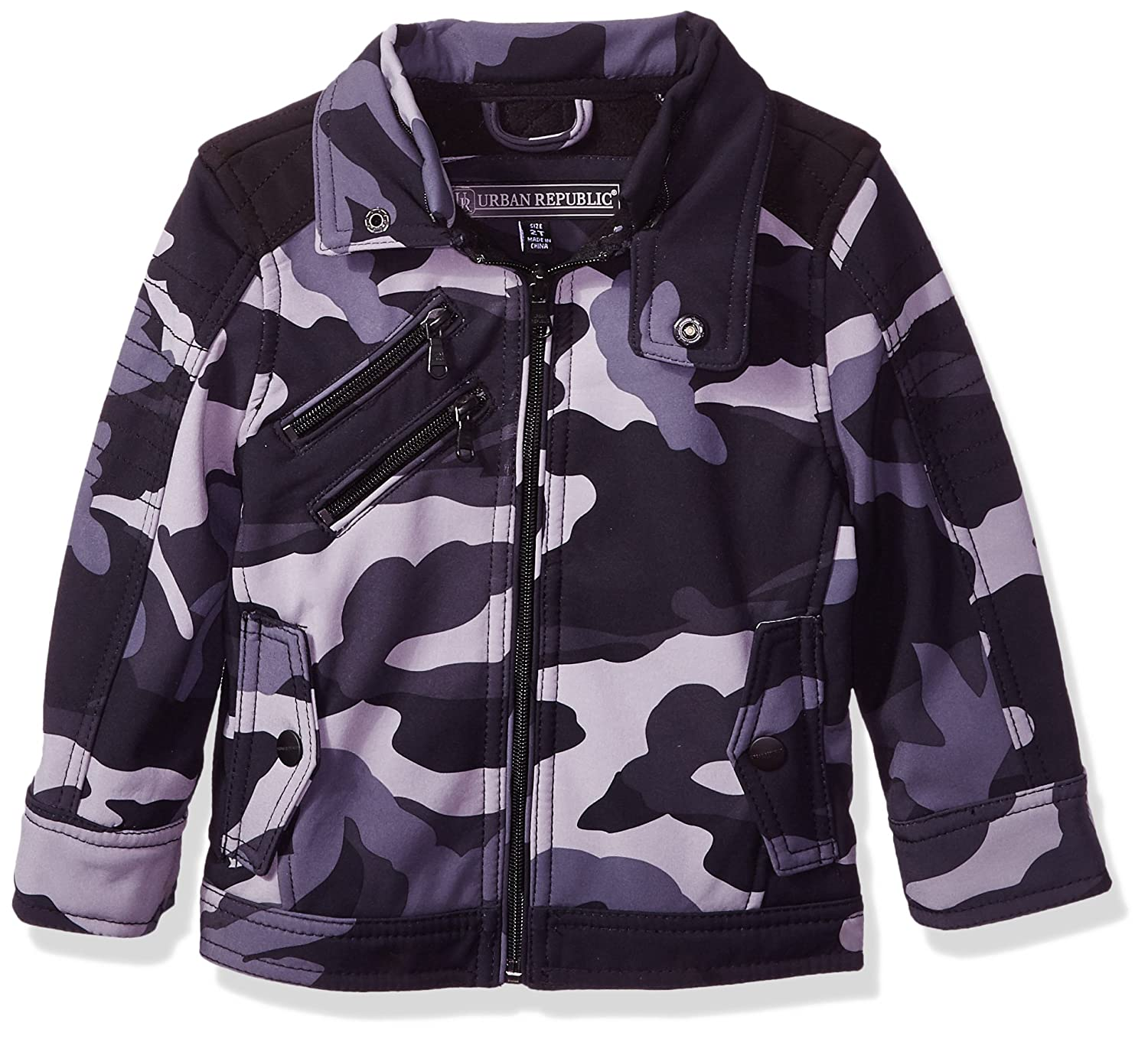 Urban Republic Boys Soft Shell Moto Jacket