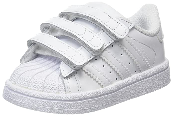 Adidas Bambini pelle la Trainer Baby Sneaker Gattonare
