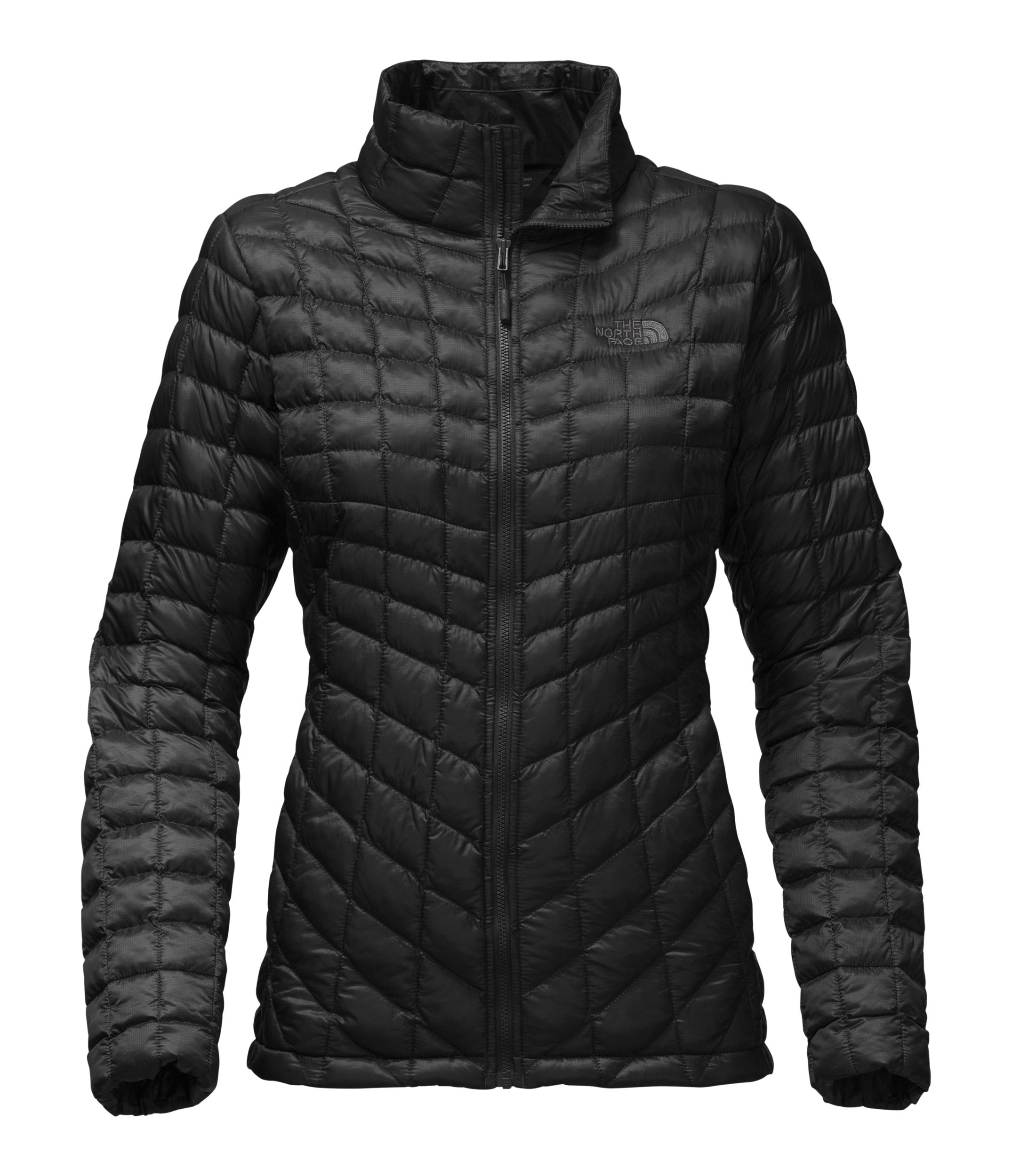 The North Face Women's Thermoball Full Zip Jacket TNF Black - S by The North Face