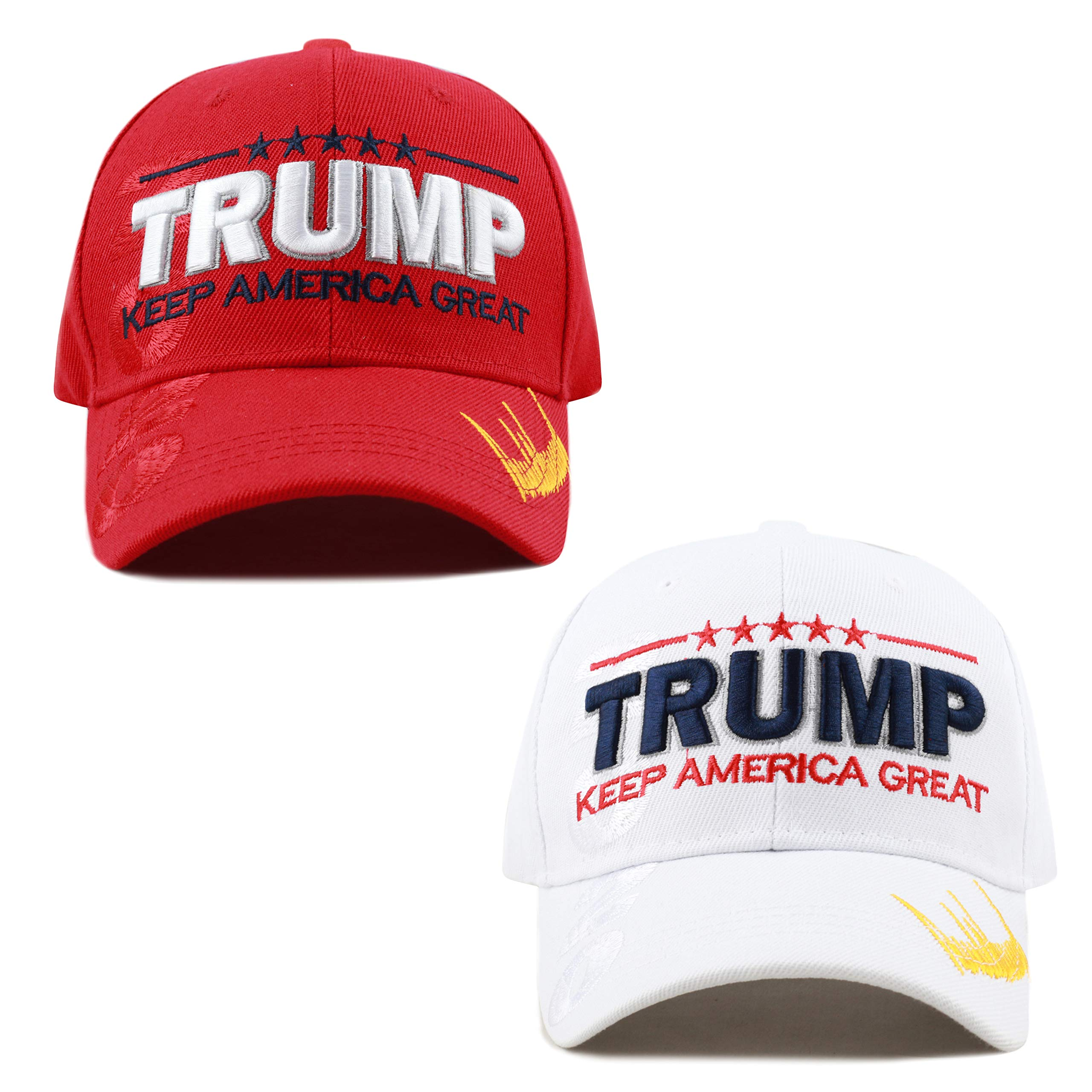 baba6ef391a THE HAT DEPOT Exclusive Donald Trump Keep America Great Make America Great  Again 3D Signature Cap