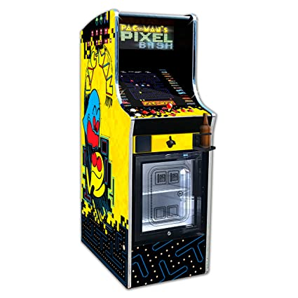 Pac Man Machine >> Amazon Com Namco Pac Man S Pixel Bash Chill Home Upright Game