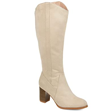 1729bd7ff33b Journee Collection Comfort Womens Parrish Boot Beige