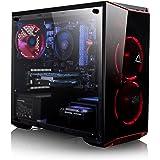 Amazon com: CybertronPC CLX Set Gaming PC - AMD Ryzen 7 1700 3 0GHz