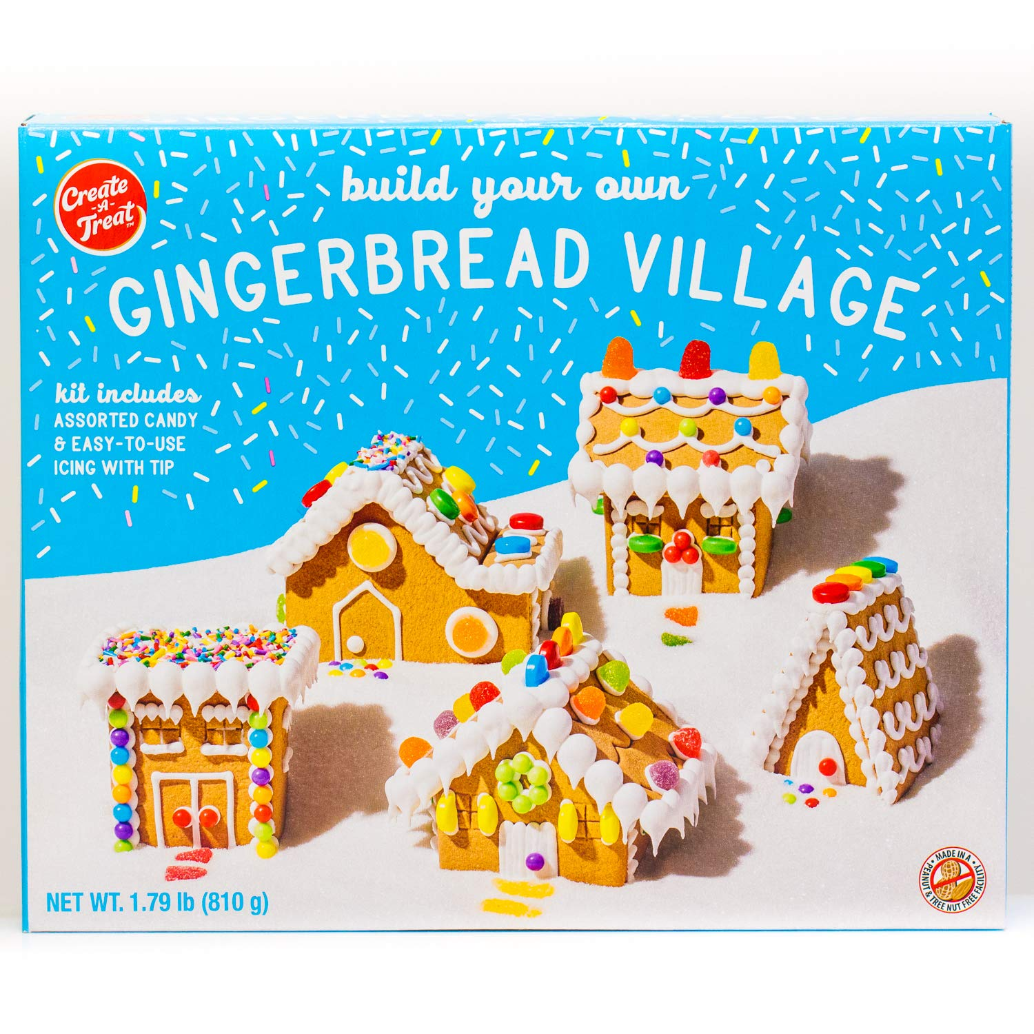 Village Gingerbread House Holiday Cookie Kit - 28.6 oz