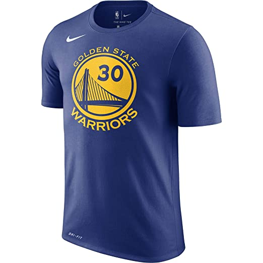 97c6d831ead Nike Stephen Curry Golden State Warriors Name   Number Performance T-Shirt  (Blue