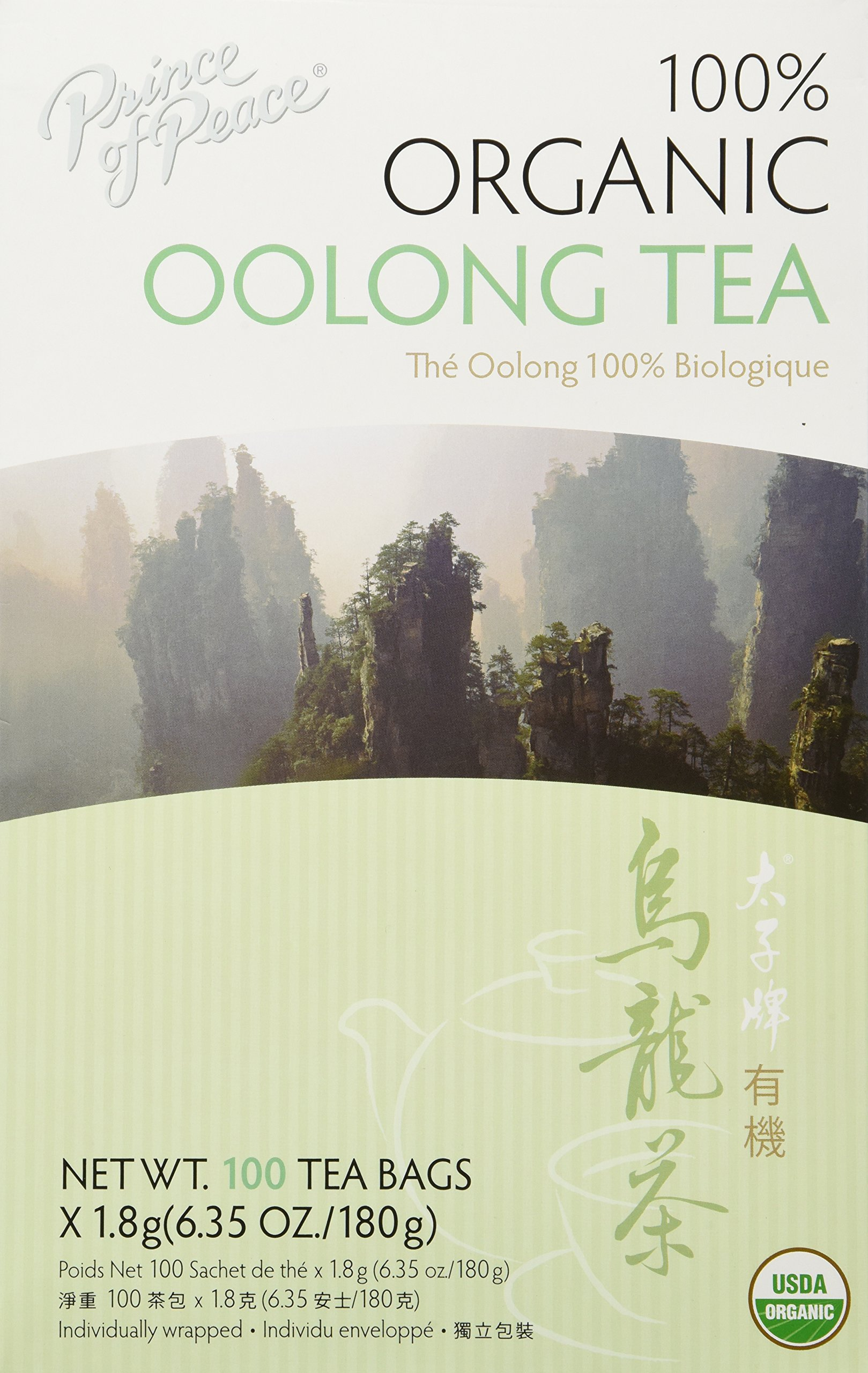 Prince of Peace Oolong Tea, 2 Count (6.35 oz)