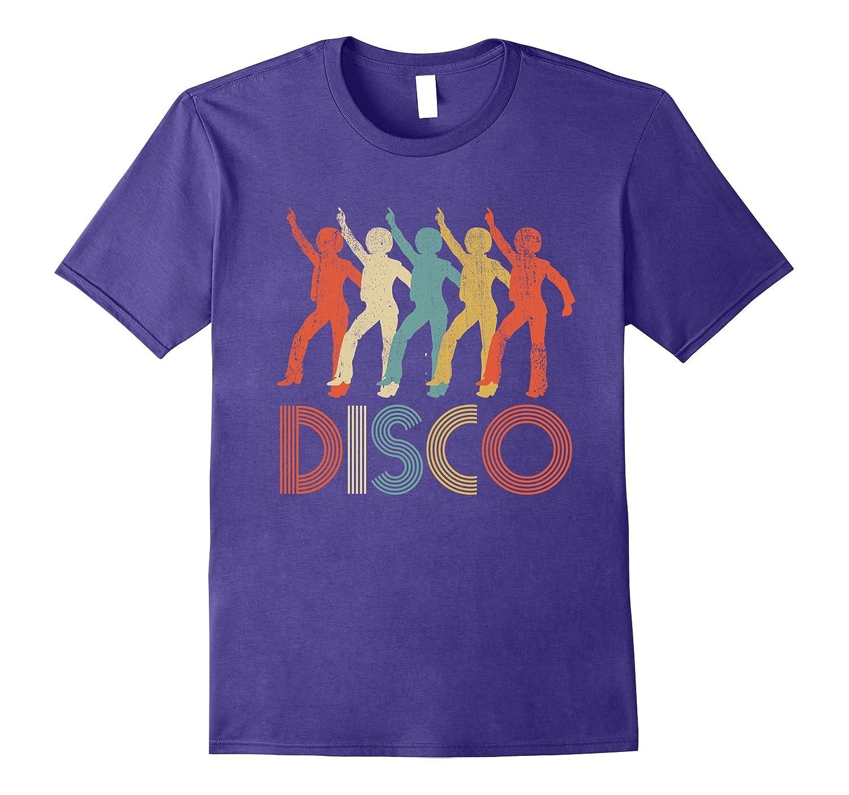 Disco Vintage T-Shirt Retro Disco Groovy Disco 70s Music Tee-BN