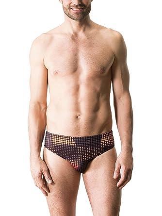 groß auswahl damen der Verkauf von Schuhen Walbusch Herren Dry Weave Badeslip 2.0, gemustert