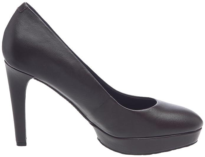 01d79078c92 Rockport Janae Pump Women s Platform Heels - Dark Brown