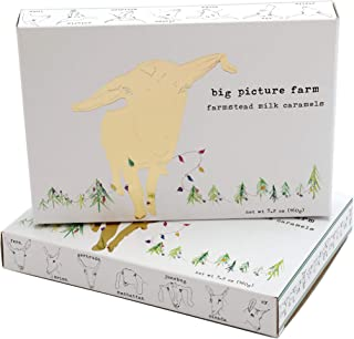 product image for Big Picture Farm Caramels, Gold Goat Holiday Gift Box (Mix of all 8 Flavors)