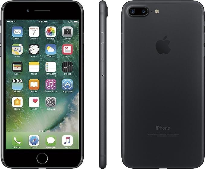 Apple Iphone 7 Plus 256gb Black For At T Renewed Amazon Com