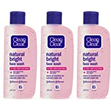 Clean & Clear Natural Bright Facewash, 100ml (Buy 2 Get 1 Free)