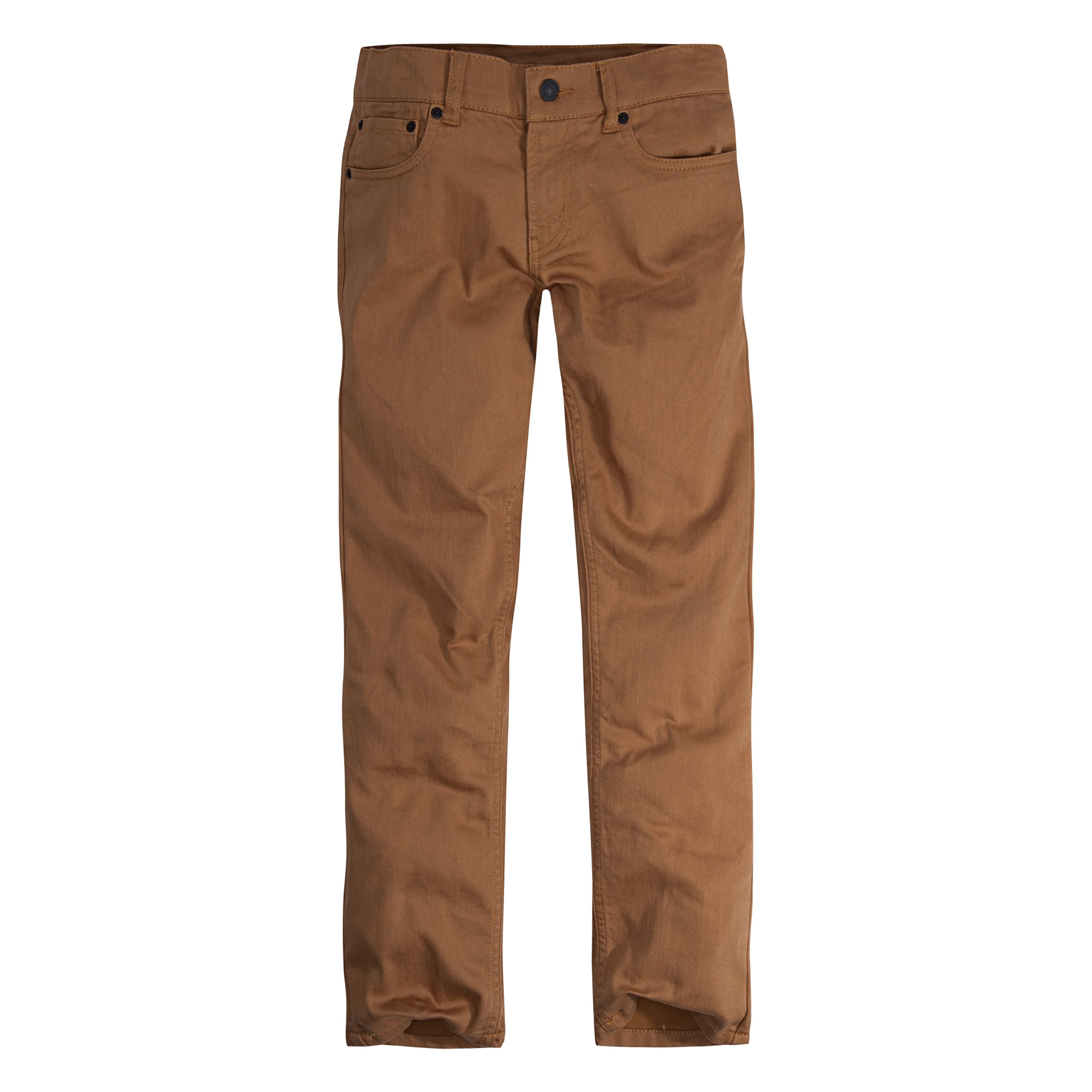 Levi's Big Boy's 502 Regular Taper Jeans Pants, dijon, 14