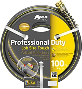 Apex 988VR-100 Professional Duty Garden Hose, 3/4-Inch by 100-Feet