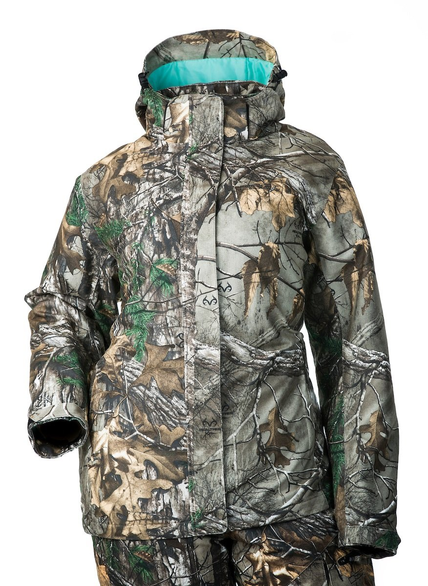 DSG Outerwear Women's Addie Hunting Jacket, Realtree Xtra Camo Aqua, X-Large by DSG Outerwear