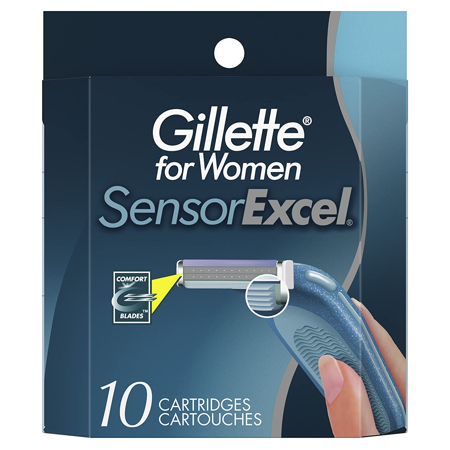 Gillette SensorExcel Cartridges for Women 10 Count NA