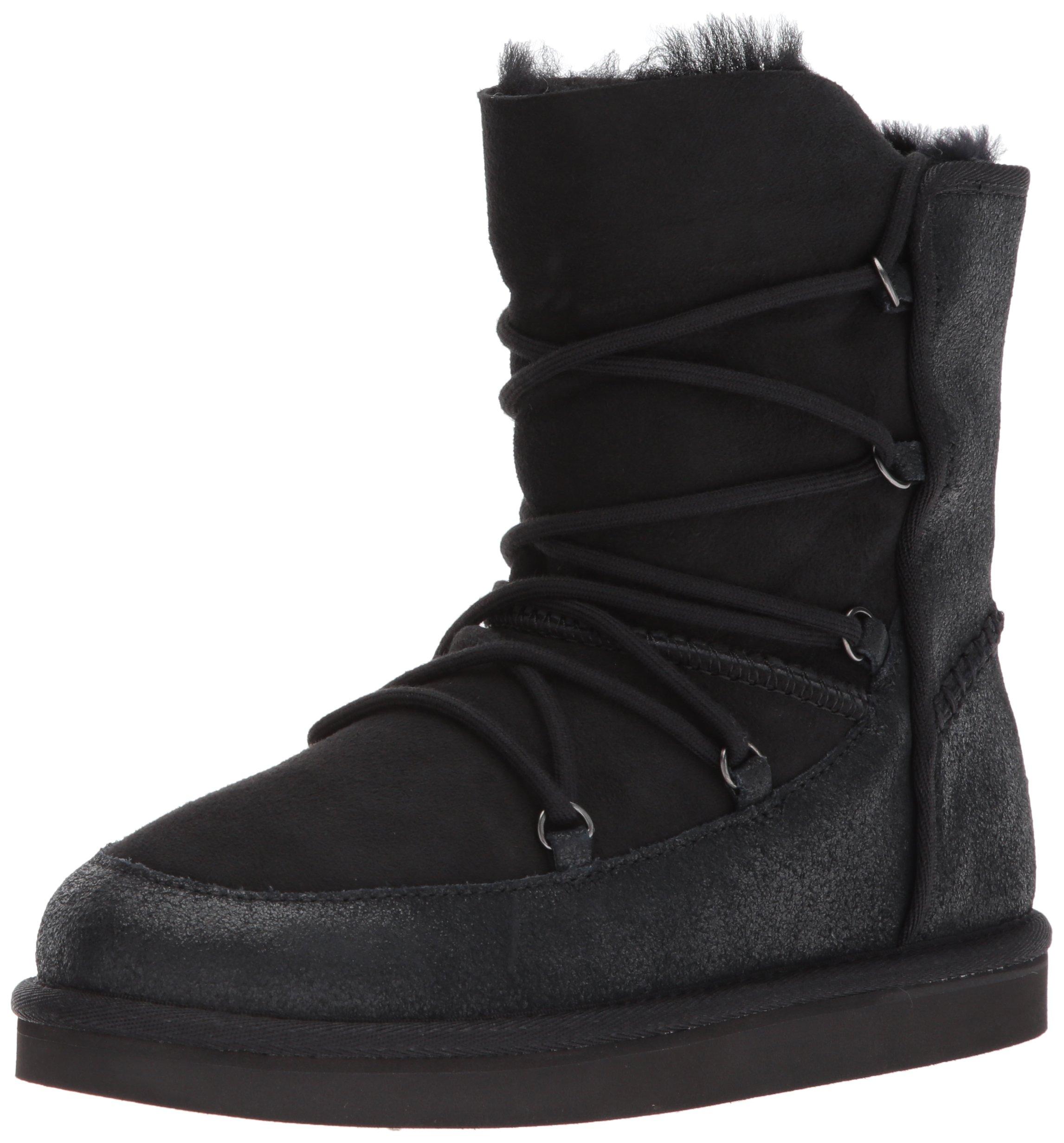 UGG Kids K Eliss Pull-on Boot, Black, 6 M US Big Kid