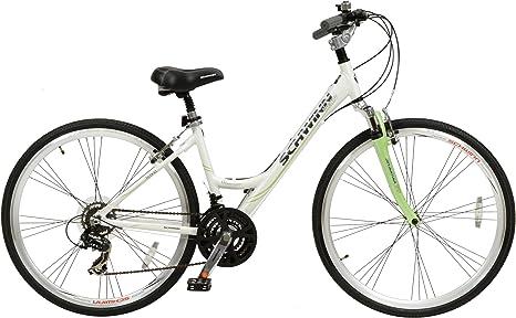 Schwinn 396062140 - Bicicleta híbrida para Mujer, Color Multicolor ...