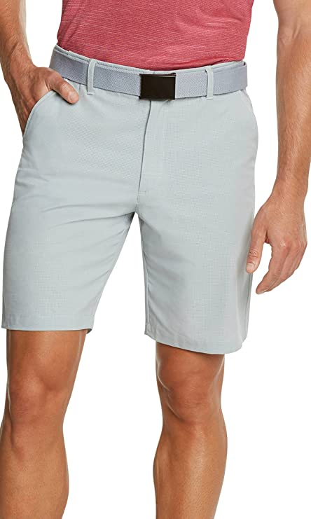 Dry Fit Golf Shorts for Men – Casual Mens Shorts Moisture Wicking - Men's Chino Shorts with Elastic Waistband