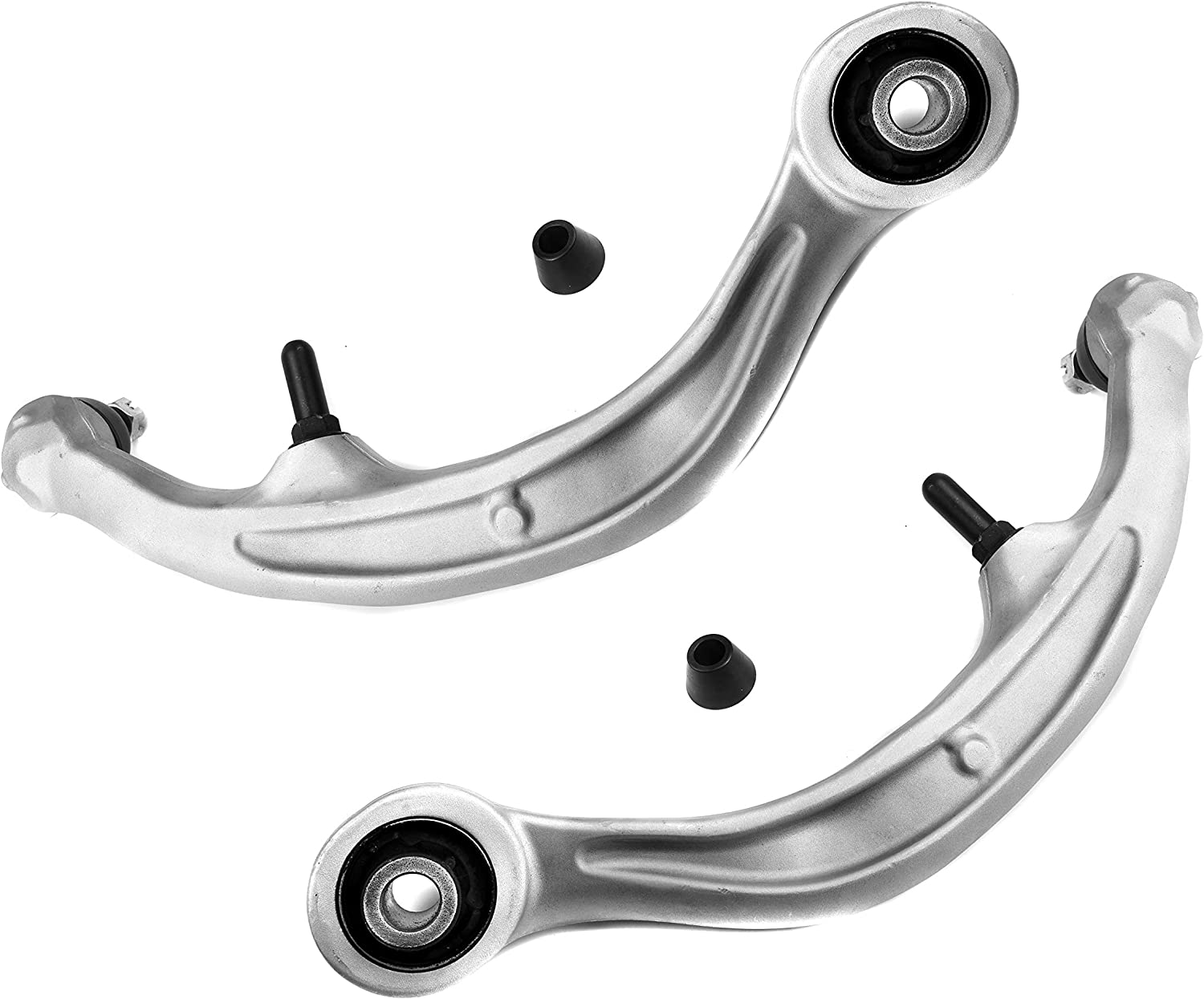 ADIGARAUTO K621340 K621341 2PCS Front Lower Rearward Control Arm and Ball Joint Assembly for Infiniti G35 Nissan 350Z Driver /& Passenger Side