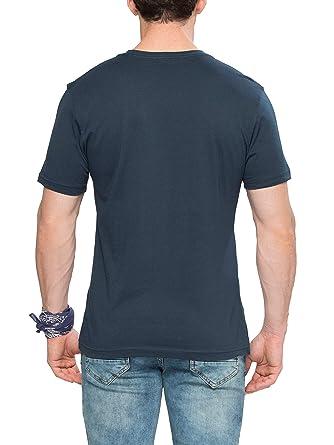 0d21598b3 Lc Waikiki Black Cotton Round Neck T-Shirt For Men: Amazon.ae