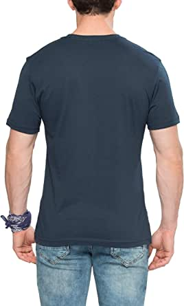 Lc Waikiki Black Cotton Round Neck T-Shirt For Men