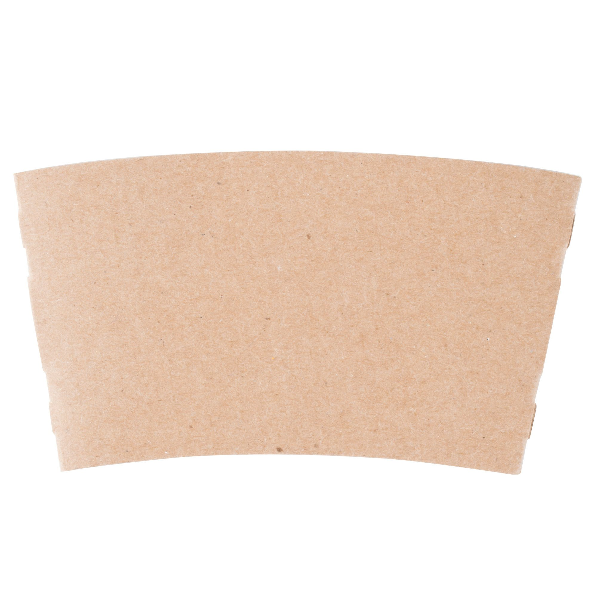 10 oz. Natural Kraft Customizable Coffee Cup Sleeve - 1500/Case