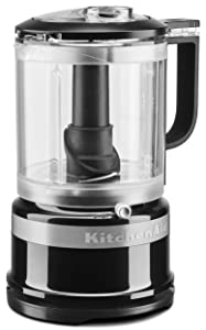 KitchenAid KFC0516OB 5 Cup whisking Accessory Food Chopper, Onyx Black