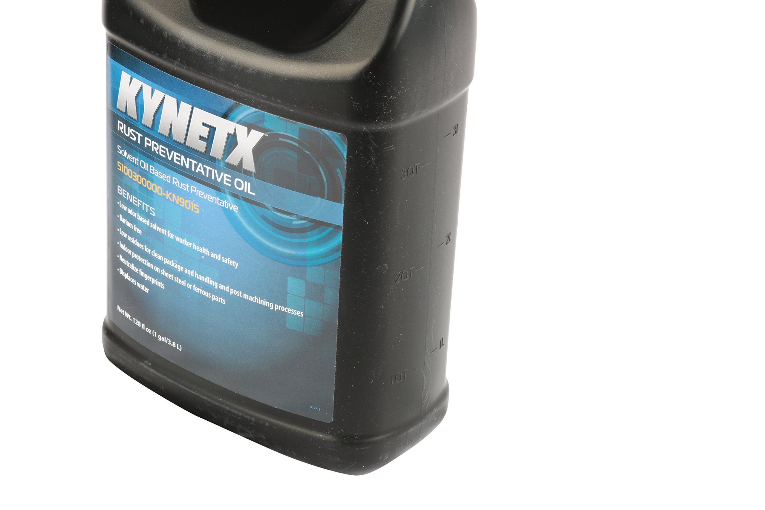 Kynetx Rust Preventive Oil 1 Gal Bottle, KN9015, Corrosion Penetrating Oil, Barium free, Corrosion and Rust Inhibitors, Compatible with: cast iron, tool steel, aluminum, copper, brass, zinc, magnesium