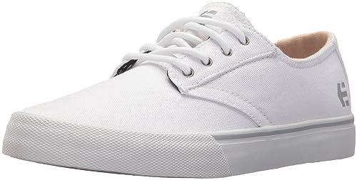 Etnies Jameson Vulc LS Ws, Zapatillas de Skateboard para Mujer, Blanco (100-