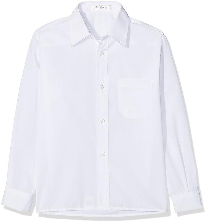 Bienzoe Ragazze Manica Lunga Oxford Camicia