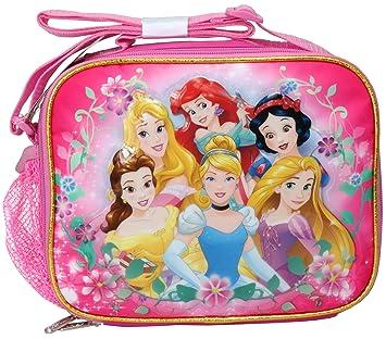 815dd3485ed Amazon.com   Disney Princess Cinderella Belle Rapunzel Ariel Soft Lunch bag  kit   Baby