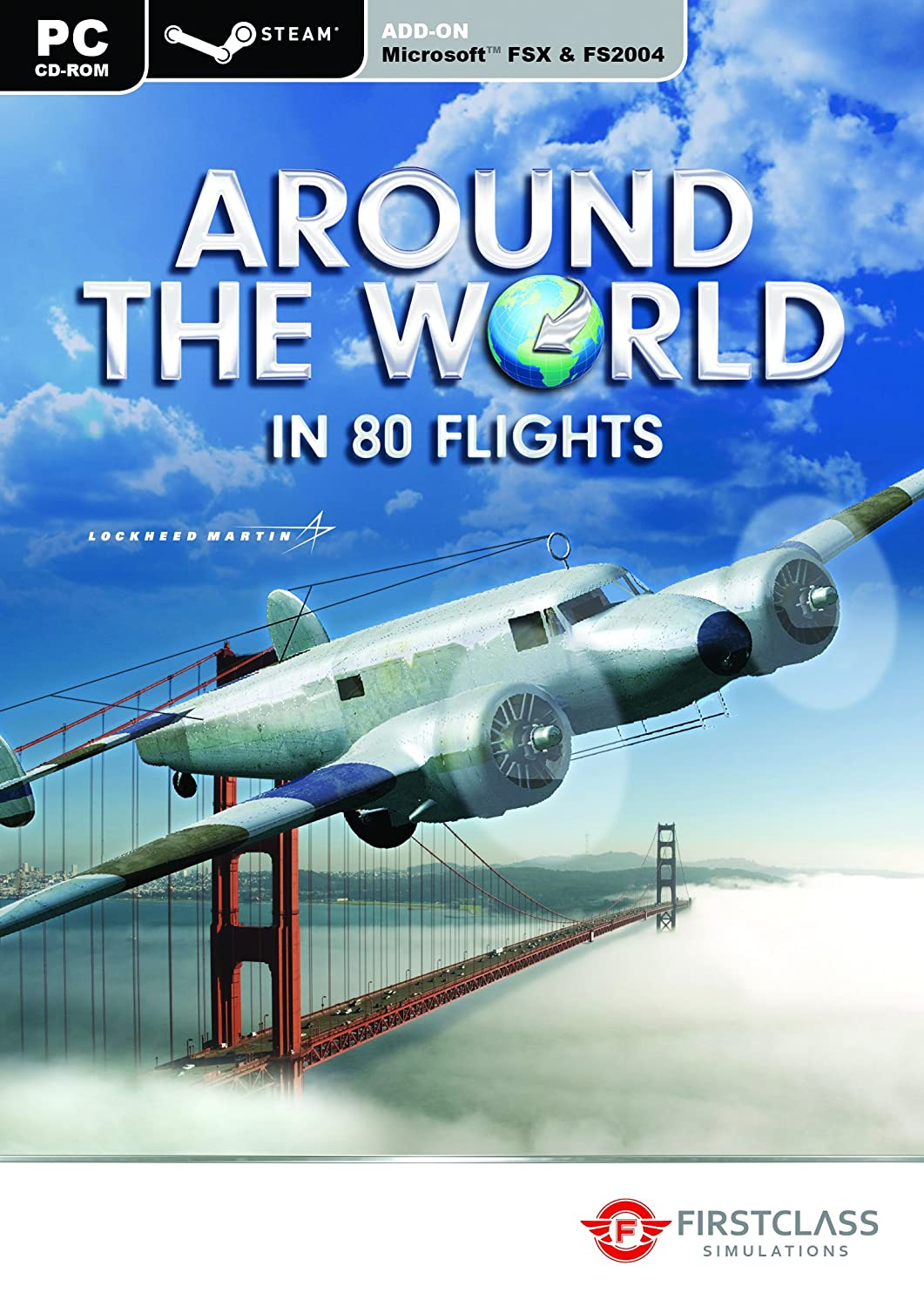 Around the World in 80 Flights - FSX & Steam (PC CD): Amazon co uk