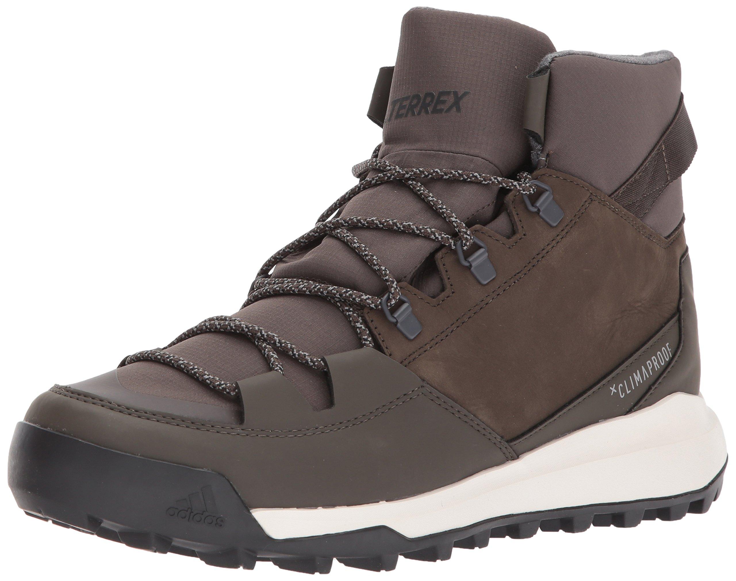 adidas Outdoor Men's Terrex Winterpitch CW CP Walking-Shoes, Umber/Black/Simple Brown, 11 D US