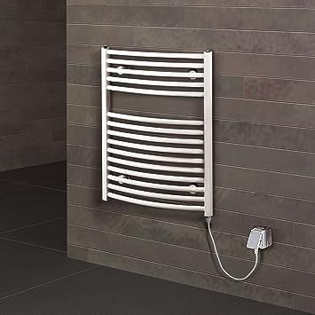 Badheizkörper elektrisch Florenz 70x50 cm Design-Heizkörper Bad ...
